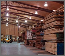 Interior of Warehouse